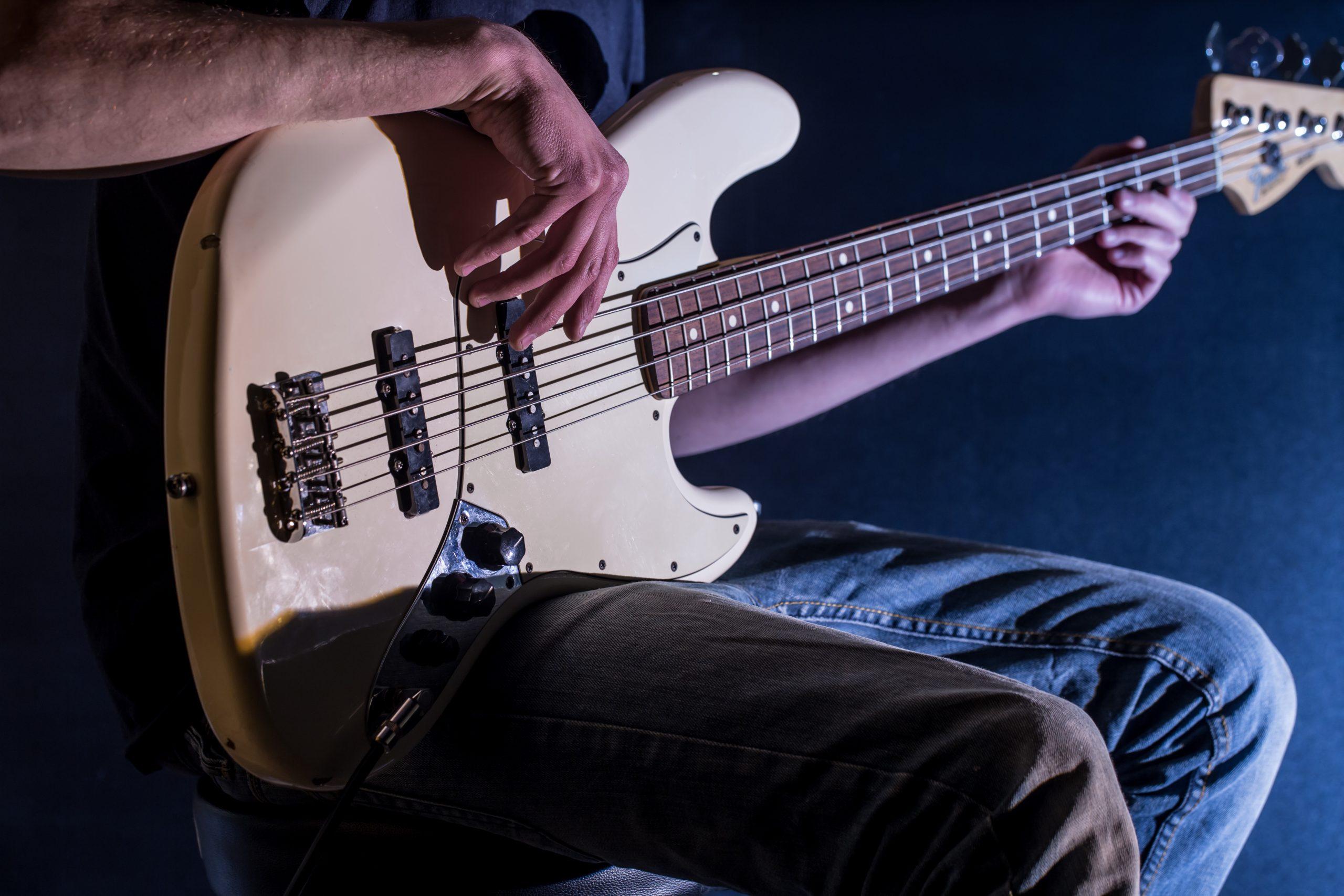 Metal Bass Player Reduce Stress